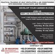 Heat Ventilation & Air Conditioning Training ( HVAC ) Live Online Clas
